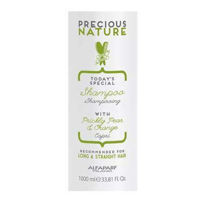 Imagem 2 do produto Alfaparf Precious Nature Long Straight Hair Shampoo - Alfaparf Precious Nature Long Straight Hair Shampoo 1000ml