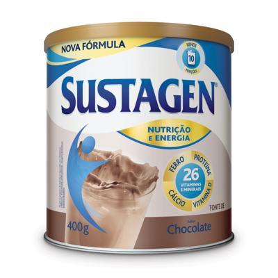Imagem 1 do produto Suplemento Alimentar Sustagen Chocolate 400g