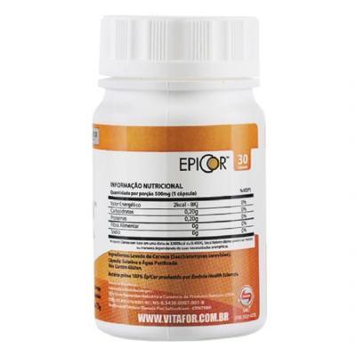 Imagem 2 do produto Epicor 30 Cápsulas - Vitafor