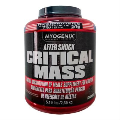 Imagem 1 do produto Critical Mass 2,35Kg - Myogenix - Chocolate