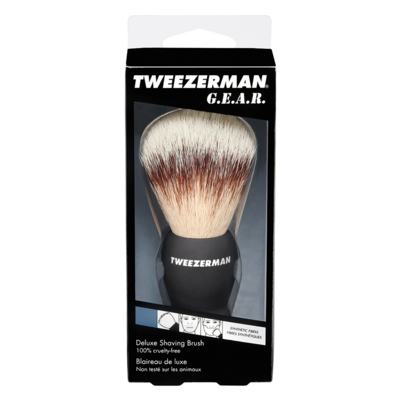 Imagem 4 do produto G.E.A.R. Deluxe Shaving Brush Tweezerman - Pincel de Barbear - 1 Un