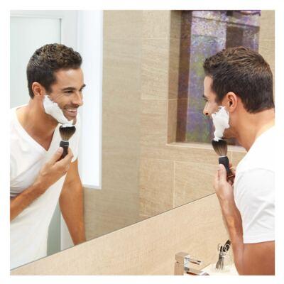 Imagem 5 do produto G.E.A.R. Deluxe Shaving Brush Tweezerman - Pincel de Barbear - 1 Un