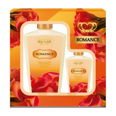 Imagem 1 do produto Kit Romance Locao Corporal De Love Secret - Kit (250ml + 60ml)