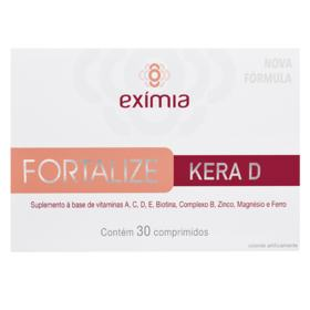 Suplemento Vitamínico Eximia Fortalize - Kera D   30 comprimidos