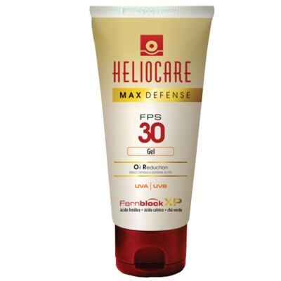 Imagem 1 do produto Heliocare Max Defense Oil Reduction Gel FPS 30 Heliocare - Protetor Solar Fps 30 - 50g