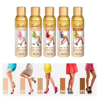 Imagem 5 do produto Meia Calça Instantânea 150ml Gold Nylons - Spray Bronzeador - Morena Escura