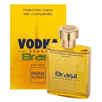 Imagem 2 do produto Vodka Brasil Yellow Paris Elysees - Perfume Masculino - Eau de Toilette - 100ml