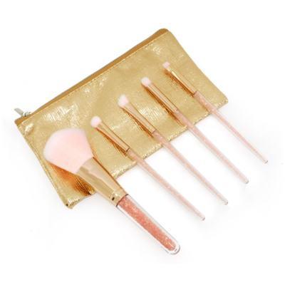 Kit de Pinceis para Maquiagem Miss Frandy - 1 kit 6 peças