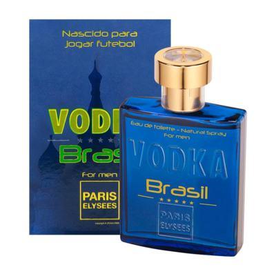 Imagem 1 do produto Vodka Brasil Azul De Paris Elysees Eau De Toilette Masculino - 100 ml