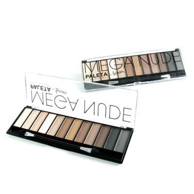 Imagem 2 do produto Paleta Sombras Para Olhos Mega Nude de Luisance - 12 Cores
