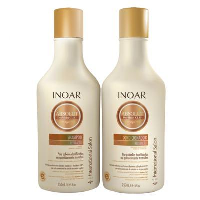 Inoar Absolut Daymoist CLR Kit - Shampoo + Condicionador - Kit