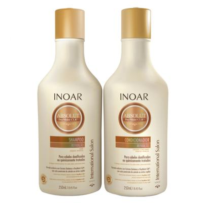 Imagem 1 do produto Inoar Absolut Daymoist CLR Kit - Shampoo + Condicionador - Kit