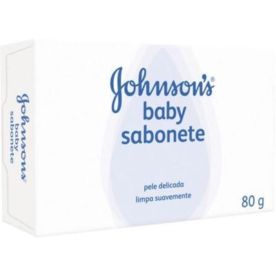 Imagem 1 do produto Sabonete em Barra Infantil Johnson Original 80g