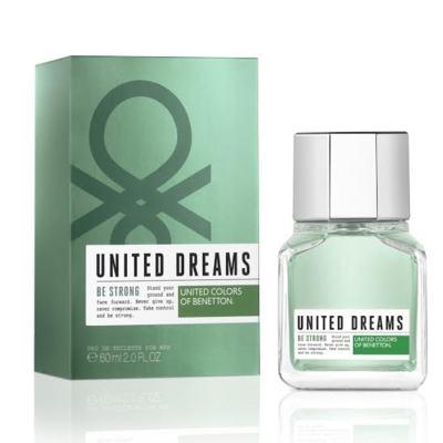 United Dreams Men Be Strong Benetton Eau de Toilette Masculino - 60 ml