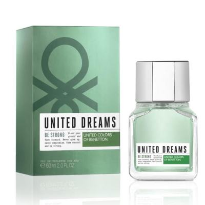 Imagem 1 do produto United Dreams Men Be Strong Benetton Eau de Toilette Masculino - 60 ml