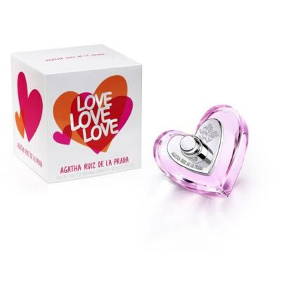 Imagem 1 do produto Love Love Love Agatha Ruiz de la Prada Eau de Toilette Feminino - 50 ml