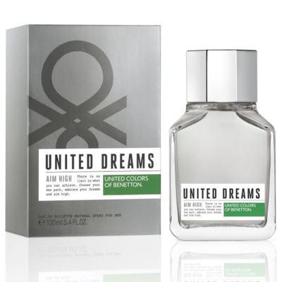 United Dreams Men Aim High Benetton Eau de Toilette Masculino - 60 ml