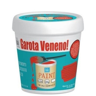 Lola Cosmetics Garota Veneno! Tonalizante Temporária - Máscara Hidratante - 230g