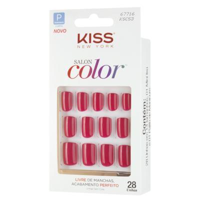 Salon Color First Kiss - Unhas Postiças - 1 Un
