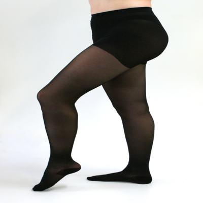 Imagem 2 do produto Meia Calça 15-20 Sheer Soft Medi - Preto Ponteira Fechada IV