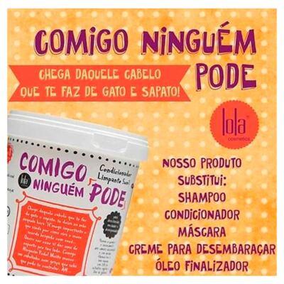 Imagem 2 do produto Lola Cosmetics Comigo Ninguém Pode 5 Em 1 - Condicionador de Limpeza - 400g