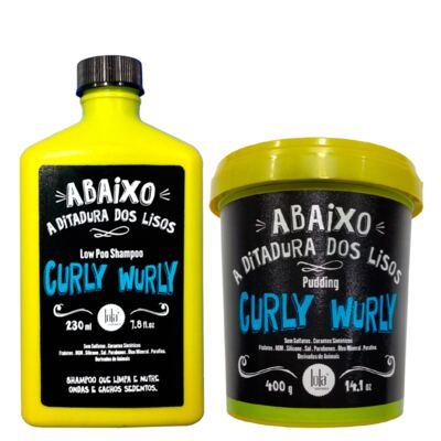 Imagem 1 do produto Kit Shampoo + Creme para Pentear Lola Cosmetics Curly Wurly - Kit