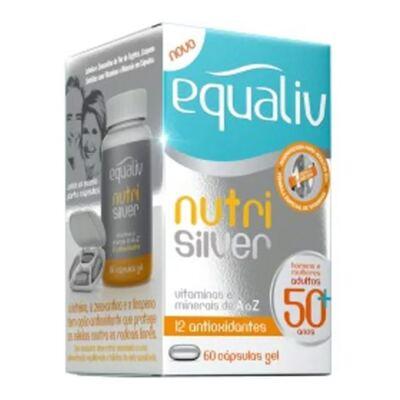 Imagem 2 do produto Nutri Silver Equaliv - Multivitamínico - 60 Cáps