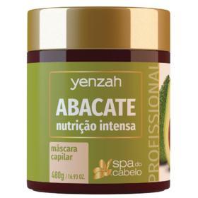 Máscara de Nutrição Intensa Yenzah - SPA do Cabelo Abacate - 480g