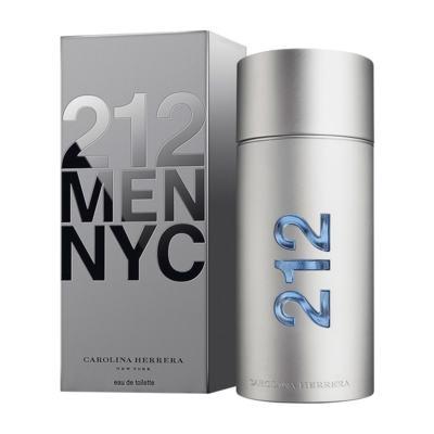212 Men De Carolina Herrera Eau De Toilette Masculino - 50 ml