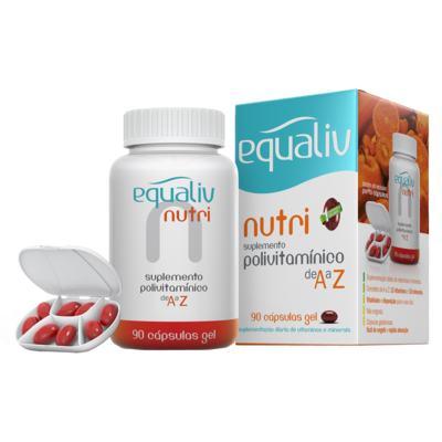 Nutri Equaliv - Suplemento Polivitamínico - 90 Cáps