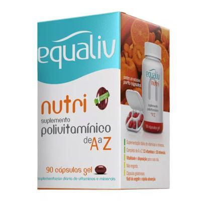Imagem 2 do produto Nutri Equaliv - Suplemento Polivitamínico - 90 Cáps