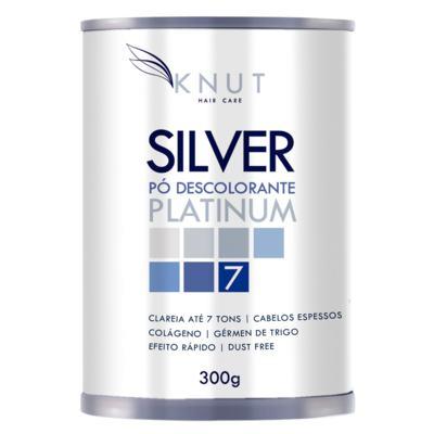 Imagem 1 do produto Pó Descolorante Colágeno Knut Silver Platinum - 300g