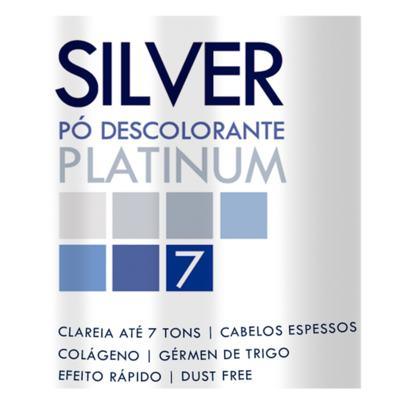 Imagem 2 do produto Pó Descolorante Colágeno Knut Silver Platinum - 300g