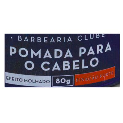 Imagem 2 do produto Barbearia Clube Efeito Molhado - Pomada para o Cabelo - 80g