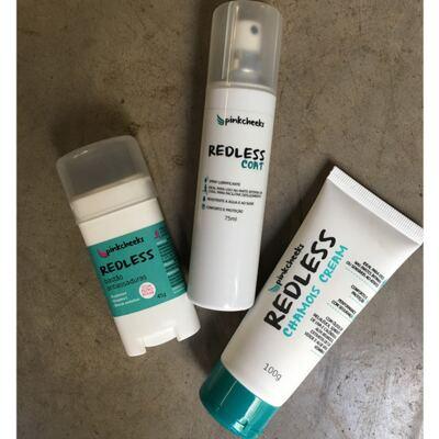 Imagem 2 do produto Bastão Antiassaduras Pink Cheeks Redless - 45g