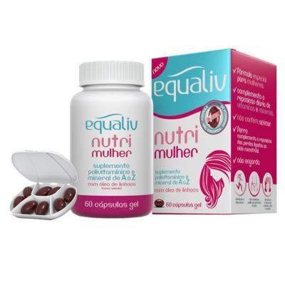 Imagem 1 do produto Nutri Mulher Equaliv - Suplemento Polivitamínico - 60 Cáps