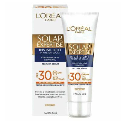 Imagem 2 do produto Solar Expertise Facial Invisilight FPS 30 L'oréal Paris - Protetor Solar - 50g