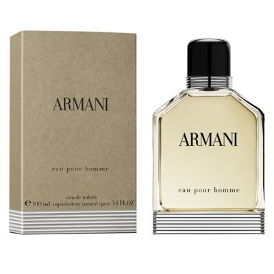 Imagem 2 do produto Armani Eau Pour Homme Giorgio Armani - Perfume Masculino - Eau de Toilette - 100ml