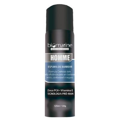 Imagem 1 do produto Biomarine Homme Espuma de Barbear - Biomarine Homme Espuma de Barbear 120g