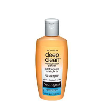 Limpador Facial Neutrogena Deep Clean Adstringente - 200ml