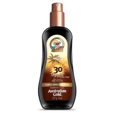 Protetor Solar Australian Gold - Com Instant Bronzer FPS 30 Spray Gel | 237ml
