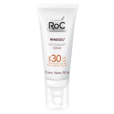 Imagem 1 do produto Minesol Antioxidant Serum FPS 30 Roc - Protetor Solar - 50g