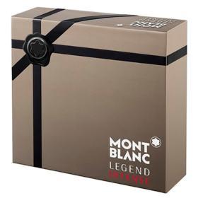 Legend Intense Montblanc - Masculino - Eau de Toilette - Perfume + Pós Barba + Gel de Banho - Kit