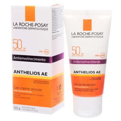 Imagem 2 do produto Anthelios Ae Gel-Creme Velouté Fps 50 La Roche-Posay - Protetor Solar Facial - 50g