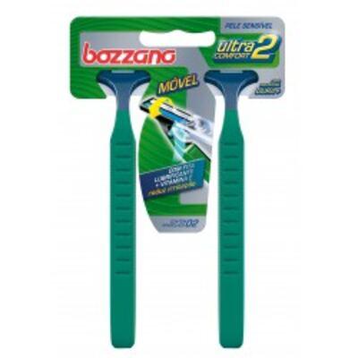 Aparelho de Barbear Bozzano Ultra Confort 2 Com 2
