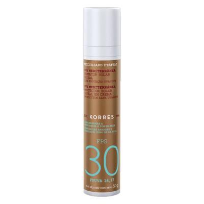 Imagem 3 do produto Protetor Solar Facial Korres Uva Mediterrânea FPS 30 - 50g