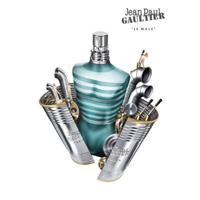Imagem 3 do produto Perfume Le Male Jean Paul Gaultier - Perfume Masculino - Eau de Toilette - 125ml