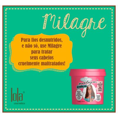 Imagem 2 do produto Lola Cosmetics Milagre! - Creme para Pentear - 930g