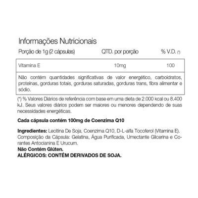 Coq 10 500mg - 30 Cápsulas - Vitafor