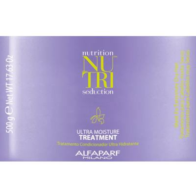 Imagem 2 do produto Alfaparf Nutri Seduction Ultra Moisture Treatment - Máscara Capilar - 500g